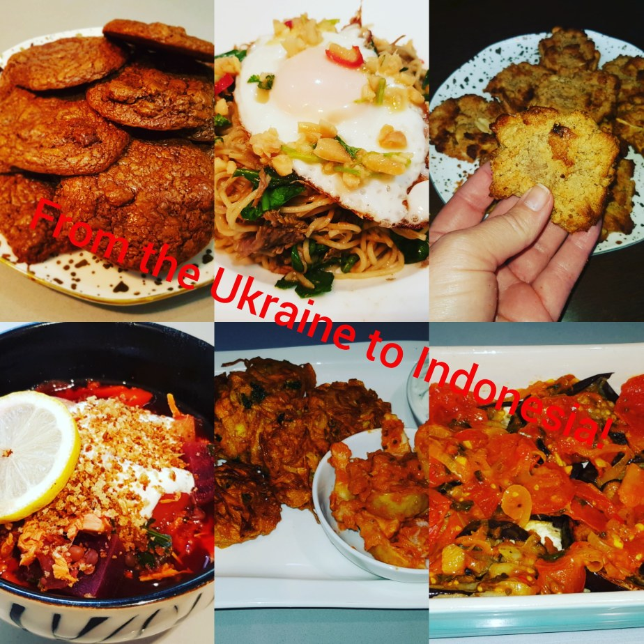 January Recipes Review: From the Ukraine to Indonesia…