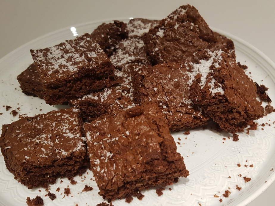 The Easiest Gluten Free Brownies