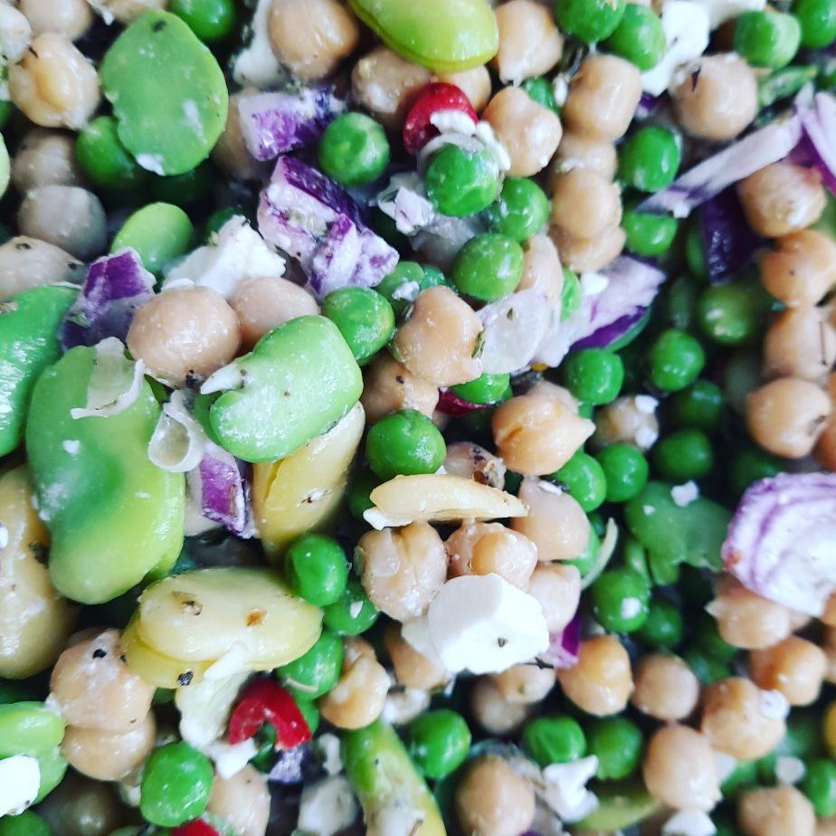 Salada Tres DeLegumes